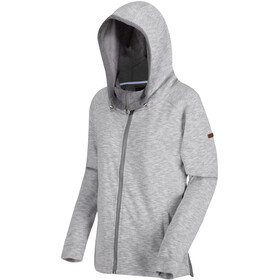 Regatta Ramira Sweat à capuche en polaire Femme, rock grey